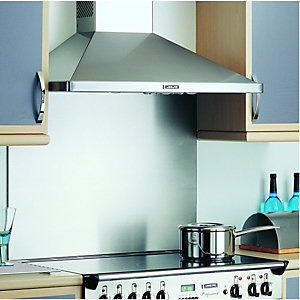 Rangemaster Splashback - Stainless Steel 900mm