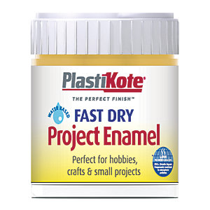 Plastikote Fast Dry Brush On Enamel - Antique Gold 59ml