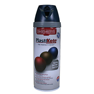 Plastikote Multi-surface Spray Paint - Satin Night Navy 400ml