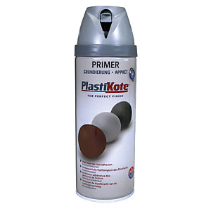 Plastikote Primer Aerosol Spray - Grey 400ml