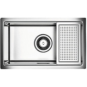 Astracast 1 Bowl Compact Kitchen Sink   Stainless Steel