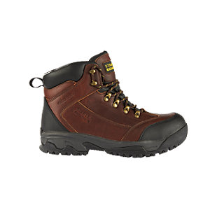 Stanley FatMax Nebraska Safety Boot - Brown