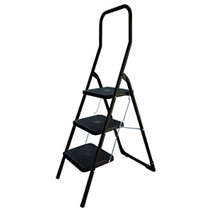 Abru 3 Step High Handrail Stepstool