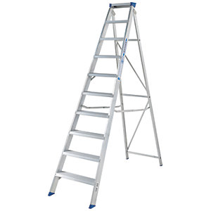 Werner MasterTrade 10 Tread Aluminium Swingback Stepladder