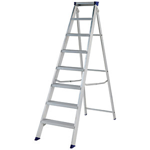 Werner Mastertrade 8 Tread Heavy Duty Aluminium Stepladder