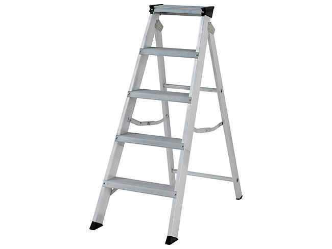 Youngman Builders 5 Tread Stepladder