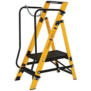 Youngman Megastep 2 Tread Fibreglass Stepladder