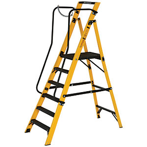 Youngman Megastep 6 Tread Fibreglass Stepladder