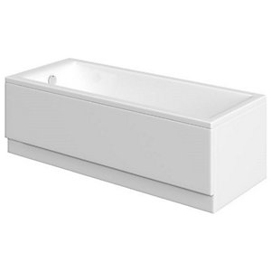 Wickes Camisa Single Ended Straight Bath - 1600 x 700mm