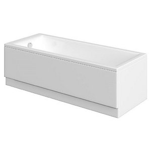 Wickes Camisa Sloped Back Straight Bath - 1700mm