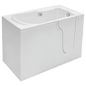 Wickes Freedom Straight Right Hand Easy Access Bath - 1270 x 660mm