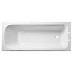 Wickes Standard Acrylic Straight Bath - 1700 x 700mm