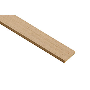 Wickes Light Hardwood Stripwood Moulding (Par) - 6mm x 35mm x 2.4m