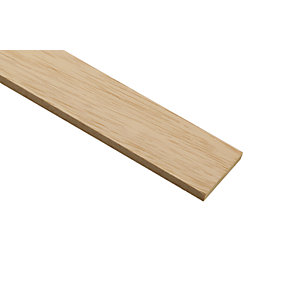 Wickes Light Hardwood Stripwood Moulding (Par) - 6mm x 47mm x 2.4m