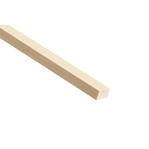 Wickes Pine Stripwood Moulding (PSE) - 12mm x 25mm x 2.4m