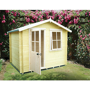 Shire 8 x 8 ft Avesbury Traditional Garden Summerhouse with Opening Window