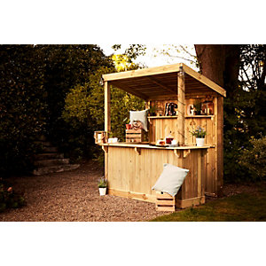 Wickes Build Your Own Garden Bar