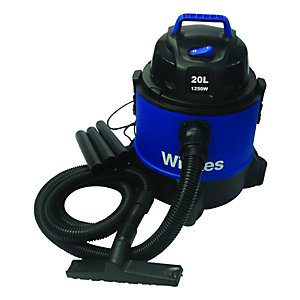 Wickes Wet & Dry Vacuum with Blower 20L - 1250W