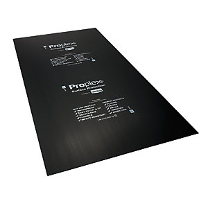 Proplex Black Surface Protection Sheet 2400 x 1200 x 2mm