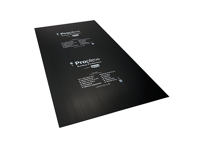 Proplex Black Surface Protection Sheet 2.4m