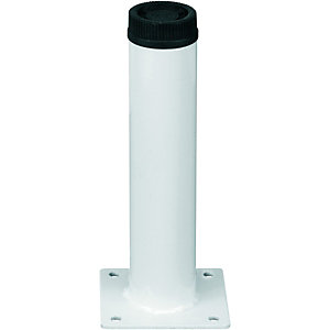 Wickes Round Interior Furniture Leg - White 32 x 150mm