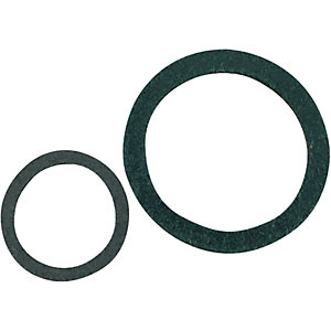 Wickes Mixed Size Leather Washers Pack