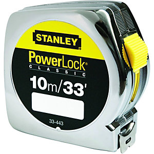 Stanley Powerlock Tape Measure - 10m