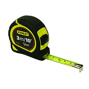 Stanley Tylon Tape Measure - 3m