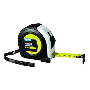 Wickes Heavy Duty Rugged Tape Measure - 5m