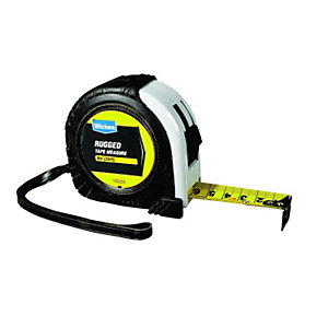 Wickes Heavy Duty Rugged Tape Measure - 8m
