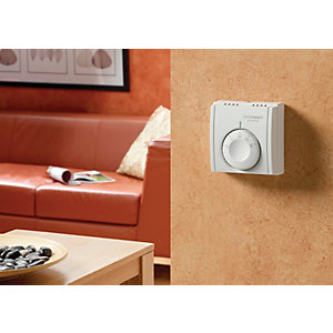 Honeywell Home Expert Mechanical Room Heating Thermostat