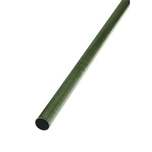 Wickes 6mm Multi-Purpose Round Tube - Steel 1m