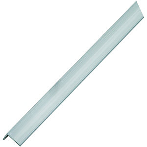 Wickes Multi-Purpose Angle - Aluminium 19.5 x 19.5mm x 1m