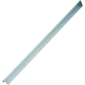 Wickes Multi-Purpose Angle - Aluminium 19.5 x 19.5mm x 2.5m