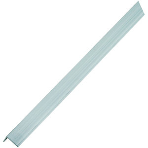 Wickes Multi-Purpose Angle - Aluminium 23.5 x 23.5mm x 2.5m