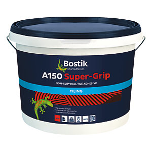 Bostik Non-Slip Ready Mixed Super-Grip Tile Adhesive A150 - 10L