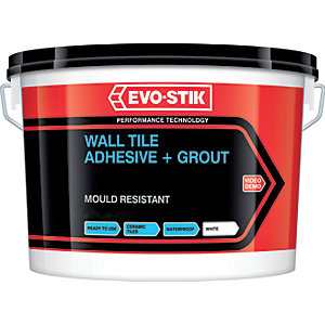 Evo-stik Evode Trade Waterproof Tile & Grout 10L
