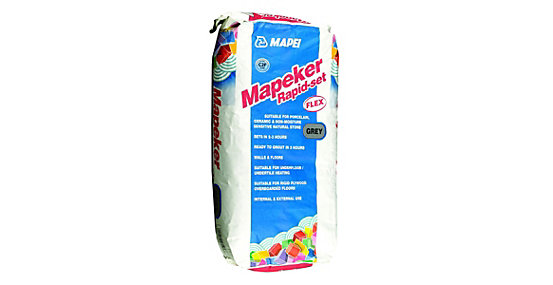 Mapei Mapeker Rapid Set Tile Adhesive Grey - 20kg