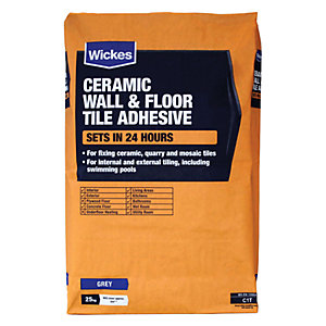 Tile Adhesives Tile Adhesive Grout Wickescouk