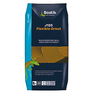 Bostik Flexible Grout J125 5kg Grey