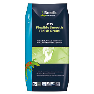Bostik Smooth Flexible Grout J115 10kg Grey