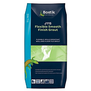 Bostik Smooth Flexible Tile Grout J115 10kg White