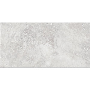 Wickes Brook Grey Porcelain Tile 600 x 300mm Sample