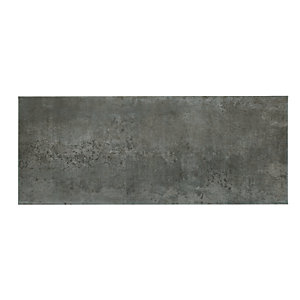 Wickes Brooklyn Cement Grey Ceramic Tile 500 x 200mm Sample