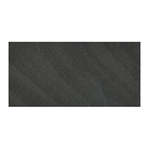 Wickes Norton Charcoal Porcelain Tile 600 x 300mm Sample