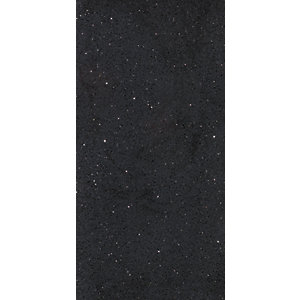 Wickes Starburst Quartz Black Natural Stone Tile 600 x 300mm Sample