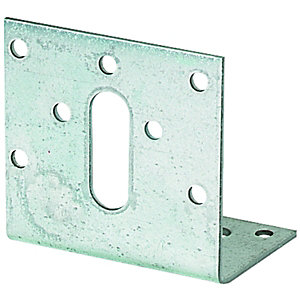 Wickes Galvansied Angle Bracket 60 x 38 x 60mm