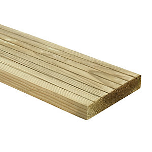 Wickes Deck Board - 25mm x 120mm x 1.8m