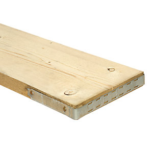 Wickes Timber Scaffold Board - 38 x 225 x 3900 mm