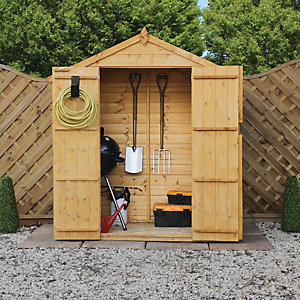Mercia 3 X 6 Ft Timber Shiplap Apex Shed Wickes Co Uk